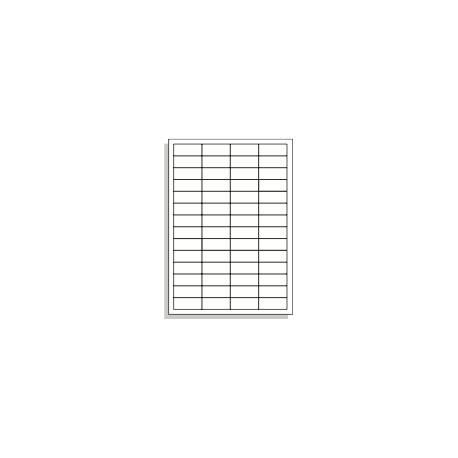 Samolepící etikety A4 48x20 mm