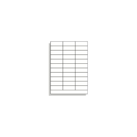 Samolepící etikety A4 70x25 mm