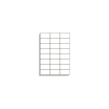 Samolepící etikety A4 70x37 mm