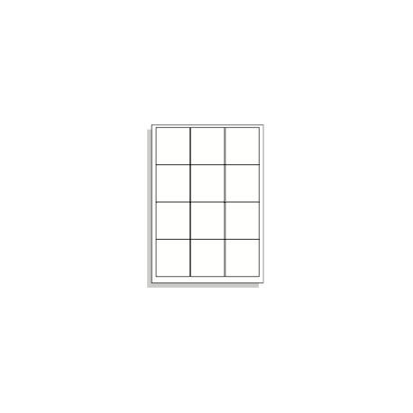 Samolepící etikety A4 70x63,5 mm