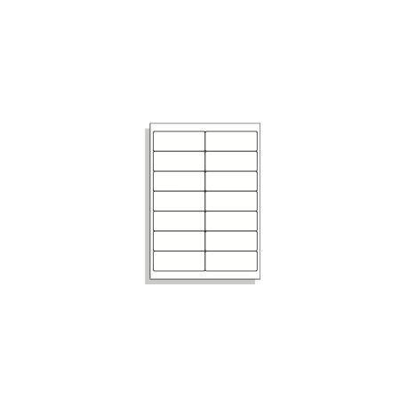 Samolepící etikety A4 99x38 mm