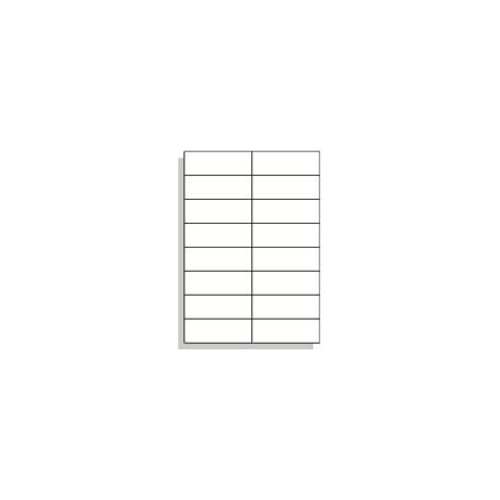 Samolepící etikety A4 105x37 mm