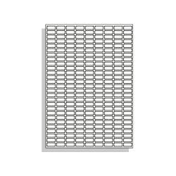 Samolepící etikety 20 x 8  mm  A4