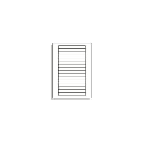 Samolepící etikety A4 145x17 mm