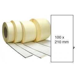 Etiketa bez potisku 100 x 210 mm