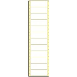 Tabelační etikety 101,6 x 36,5 mm, 1 řada