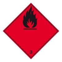 Nebezpečí požáru (hořlavé kapaliny) č. 3