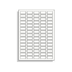 Samolepící etikety A4 32x14 mm
