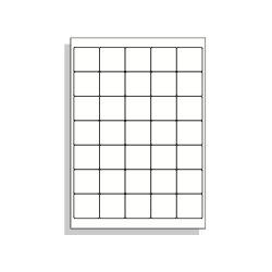 Samolepící etikety A4 40x38 mm