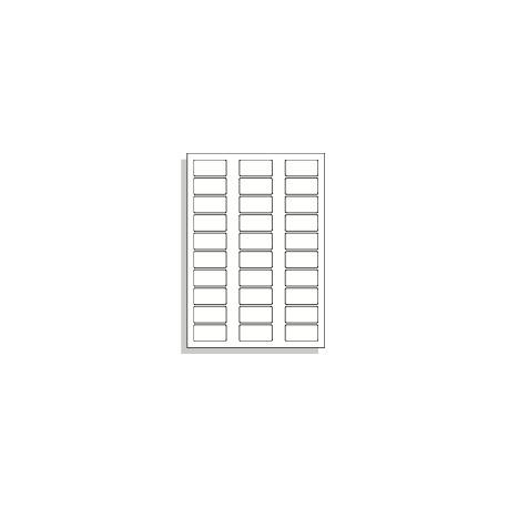 Samolepící etikety A4 50x25 mm