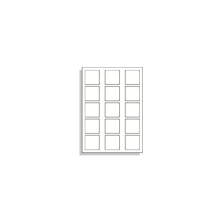 Samolepící etikety A4 50x50 mm