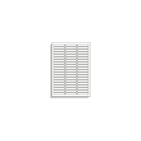 Samolepící etikety A4 60x10 mm