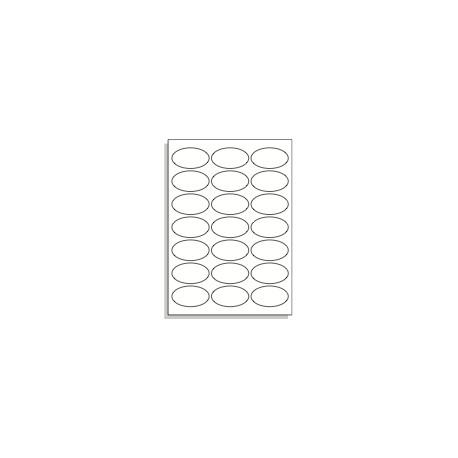 Samolepící etikety A4 65x35 mm ovál