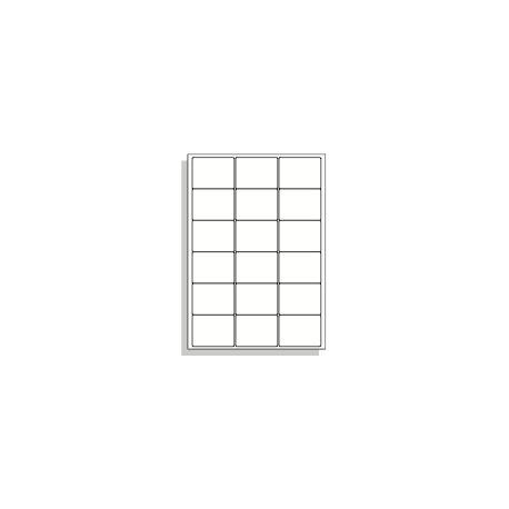 Samolepící etikety A4 64x48 mm