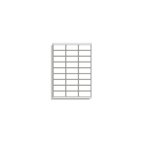 Samolepící etikety A4 66x29 mm