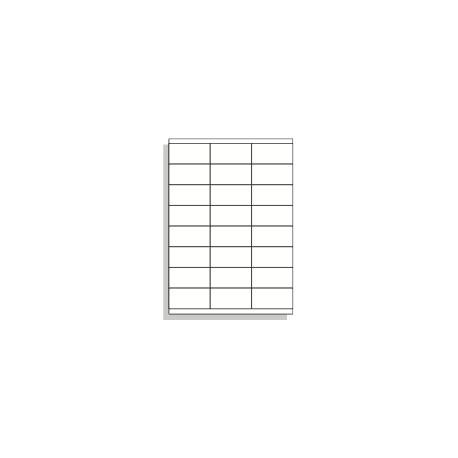 Samolepící etikety A4 70x35 mm