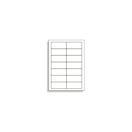 Samolepící etikety A4 90x39 mm