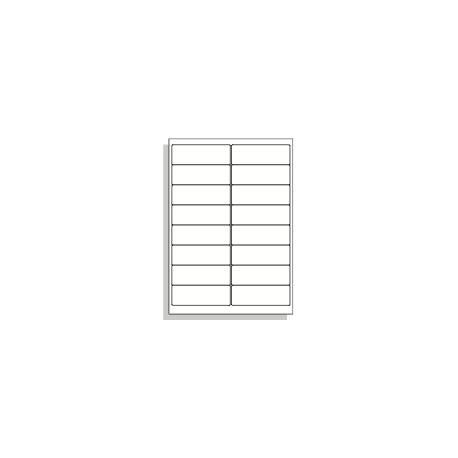 Samolepící etikety A4 99x34 mm