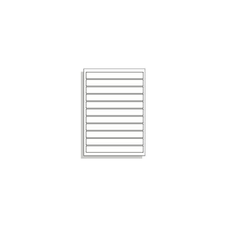 Samolepící etikety A4 195x22 mm