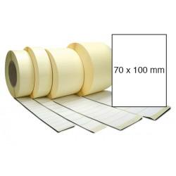 Etiketa bez potisku 70 x 100 mm