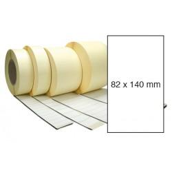 Etiketa bez potisku 82 x 140 mm