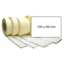 Etiketa bez potisku 100 x 68 mm
