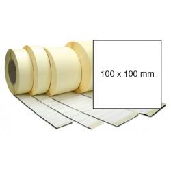 Etiketa bez potisku 100 x 100 mm