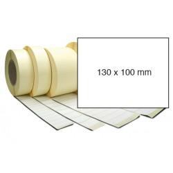 Etiketa bez potisku 130 x 100 mm