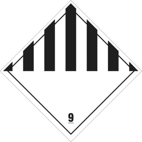 Jiné nebezpečné látky a předměty č. 9