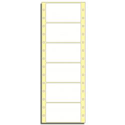 Tabelační etikety 89 x 48,8 mm, 1 řada