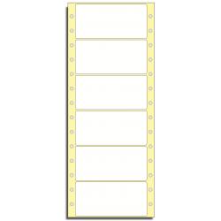 Tabelační etikety 101,6 x 48,8 mm, 1 řada