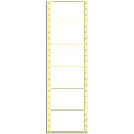 Tabelační etikety 118 x 74 mm, 1 řada