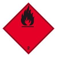 Nebezpečí požáru (hořlavé plyny) č.2