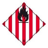 Nebezpečí požáru (hořlavé tuhé látky) č. 4.1