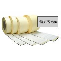 Výprodej - Etiketa bez potisku 50 x 25 mm stříbrná