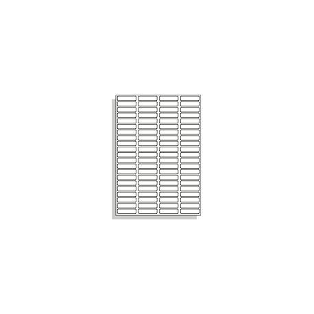 Samolepící etikety A4 46x11 mm